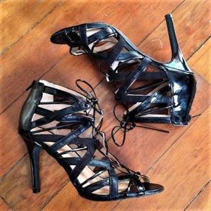 Prabal Gurung for Target strappy black sandals